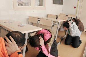 Beykoz'da bir günlük deprem eğitimi