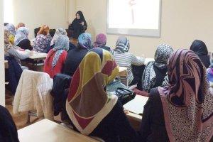 Beykoz'un Kur'an gönüllüleri sertifikalarını aldı…