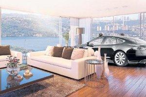 Beykoz'da buda oldu… Ev alana araba