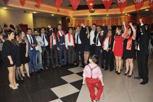 CHP Beykoz İlçe Örgütü'nden gövde gösterisi