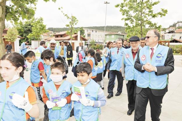 Beykoz'da temizlik harekatı başladı