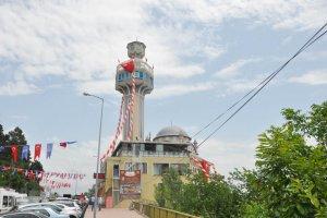 Beykoz'un seyir teraslı camisi dualarla açıldı