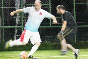 Kaymakam Katırcı, halı saha maçına konuk oldu