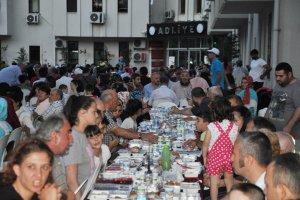 Beykoz'da protokolsüz iftar sofrası kuruldu