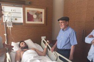 Başkan Çelikbilek'ten Beykoz'un gazilerine ziyaret