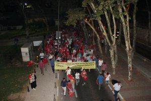 Beykoz'da eğitimciler FETÖ'ya lanet okudu