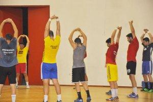 Beykoz Belediyespor'da kupa hazırlıkları sürüyor
