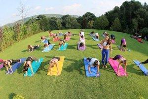 Beykoz ormanları yoga eğitimine ev sahipliği yapıyor