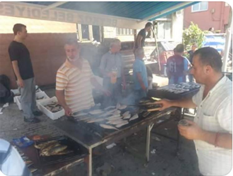 Beykoz Paşamandıra'da balık şenliği vardı
