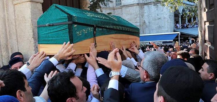 Beykoz'da vefat eden Denizolgun ebediyete teslim edildi
