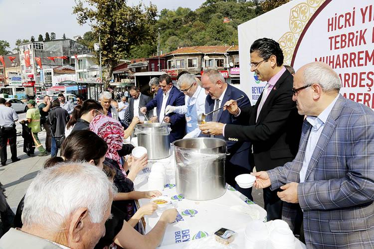 Beykoz Belediyesi 50 bin Aşure dağıtacak