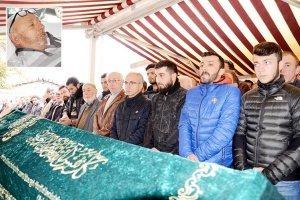Emin Yavuz'un babası dualarla ebediyete teslim edildi