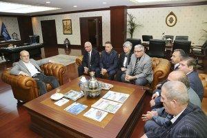 Beykoz muhtarlarından Başkan'a 19 Ekim ziyareti