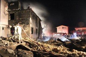 Beykoz Riva'da yangın çıktı, çok sayıda hayvan telef oldu