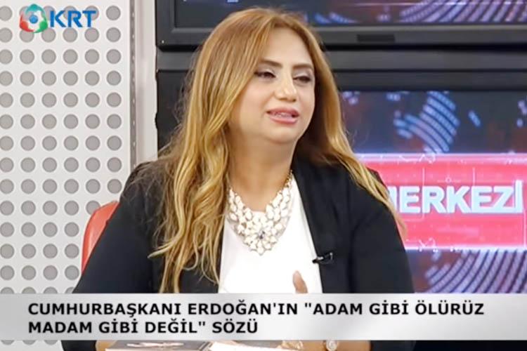 CHP Beykoz Kadın Kolları Başkanı, KRT TV'de konuştu