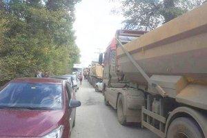 Beykoz İshaklı Mahallesi'nde vatandaş yolları kesti