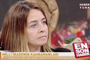 Beykozlu şehidin annesi Türkiye'yi ağlattı
