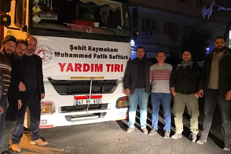 Beykoz'dan Türkmenlere yardım hız kesmiyor