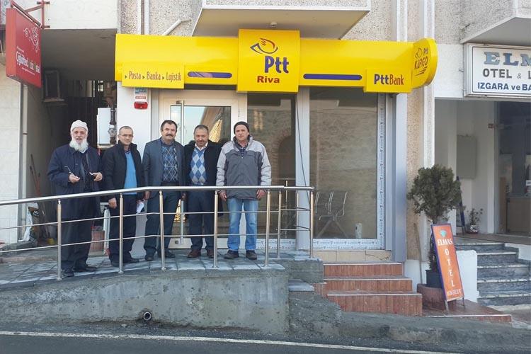 Beykoz Riva'da PTT şubesi açıldı…