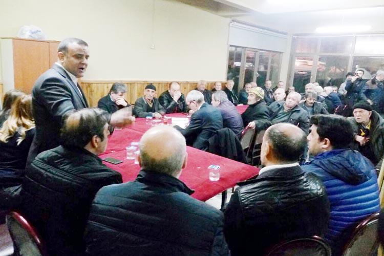 CHP Beykoz Yöneticilileri 'hayır' için çalışıyor...