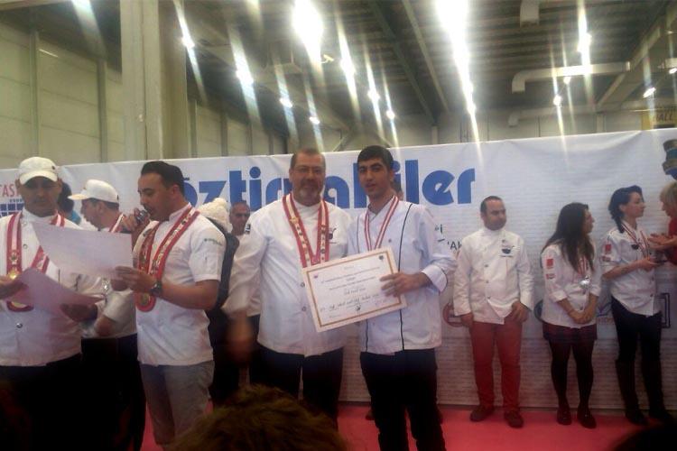 Beykoz'un yüzde yüz burslu uluslararası aşçısı