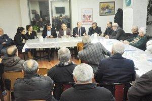 Akif Hamzaçebi, Beykoz'da yeni anayasayı anlattı