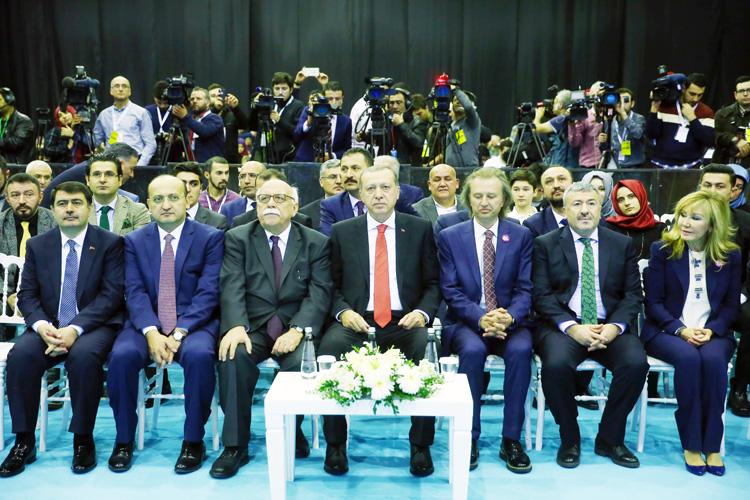 Kaşıtoğlu, Cumhurbaşkanı Erdoğan ile açılışta buluştu