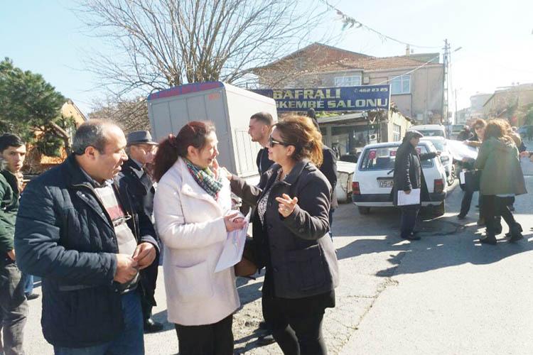 CHP Kadınları Beykoz'da ne yapıyor?