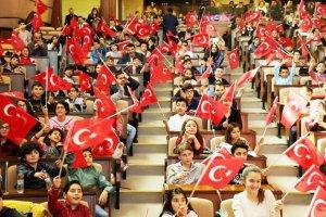Beykoz'un çocukları meclis genel kurulunda