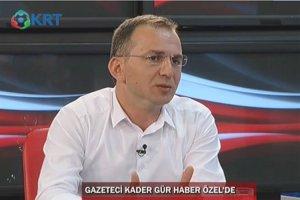 Kader Gür, KRT TV'de referandumu anlatacak
