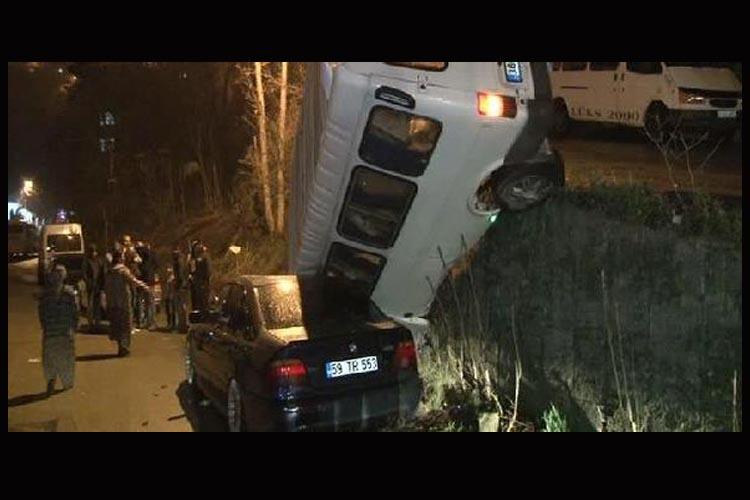 Beykoz Çubuklu'da trafik kazası