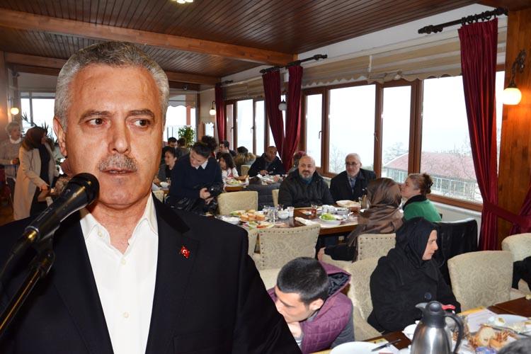 Mustafa Ataş Beykoz'da gazilerle buluştu