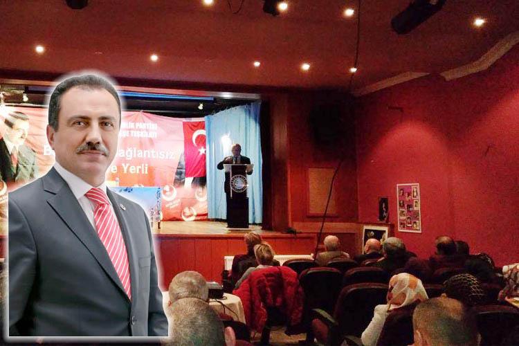 BBP Beykoz Kadın Kolları'ndan Yazıcoğlu'na vefa