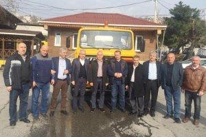 Beykoz Belediyesi'nden Tirebolu'ya Hibe kamyon