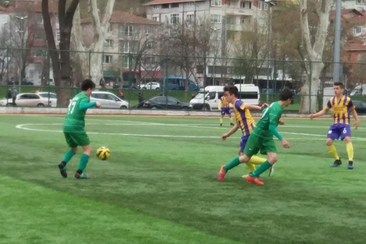 Çubuklu U16 galibiyetle noktaladı: 2 - 1