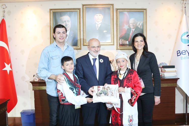 23 Nisan Çocukları Beykoz'a geldi