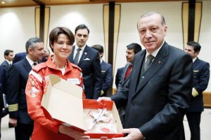 Başkomutan Erdoğan Beykoz'un gurunu kabul etti