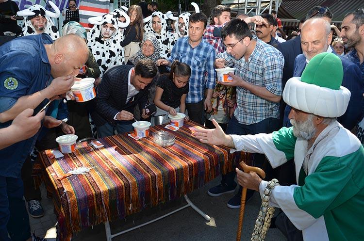 Beykoz'da Geleneksel Kanlıca Yoğurt Festivali yapıldı