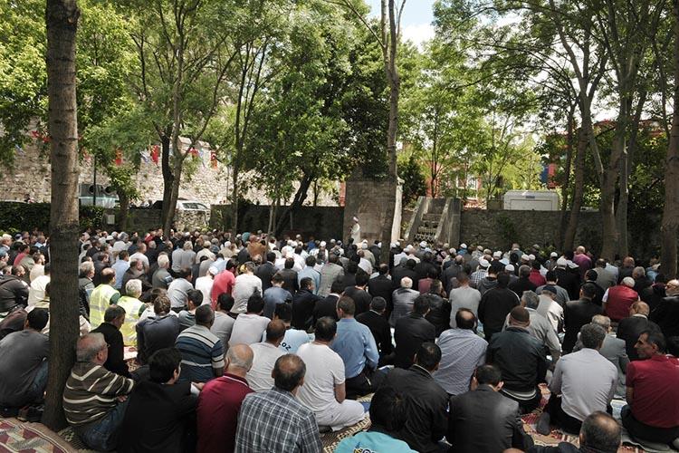 Beykoz'daki tarihi Namazgahta Ramazan açılışı