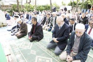 Beykoz Anadoluhisarı Namazgahı açıldı