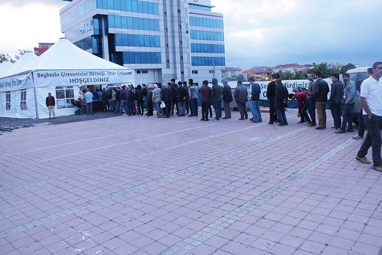 Giresunluların Beykoz'da iftar çadırı geleneği...