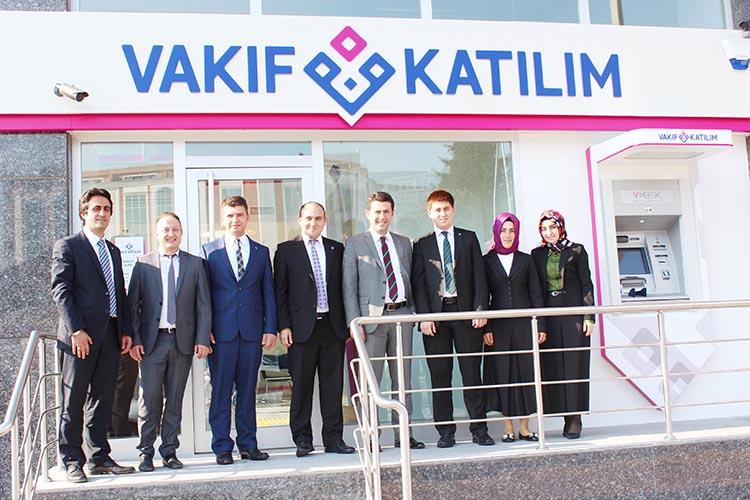Vakıf Katılım Bankası Beykoz Şubesi açıldı