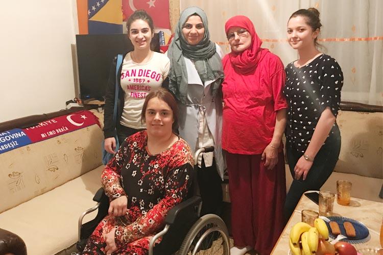 Bosnalı Sümeyye'nin tek hayali Türkiye