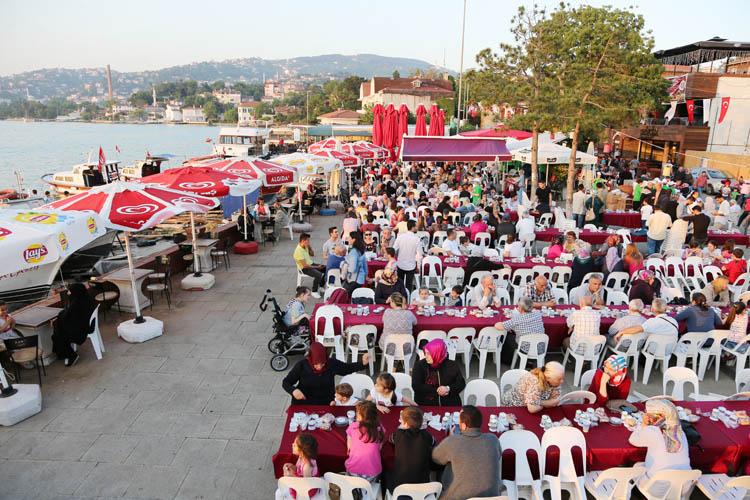 Paşabahçe Sahilinde, 6 bin Beykozlu buluştu
