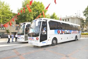 Beykoz'dan Osmanlı'nın Başkenti'ne her gün 4 otobüs