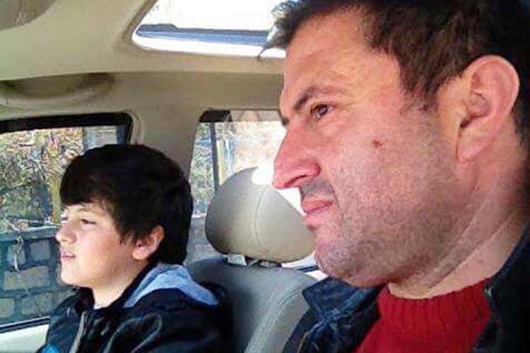Polis, Beykoz'da aileye ulaşınca…