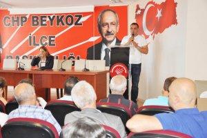CHP Beykoz'da adalet için yürüyecek