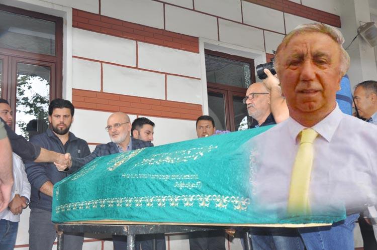 Beykoz Nuri Ağabeyini gözyaşlarıyla uğurladı