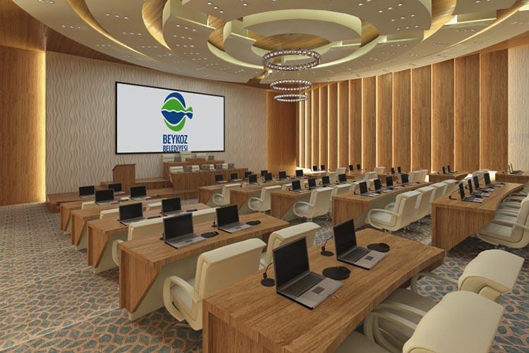 Beykoz'a yeni meclis binasının inşaatı başladı