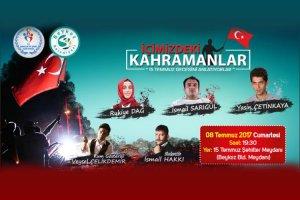 Beykoz'da kahramanları 15 Temmuz'u anlatacak